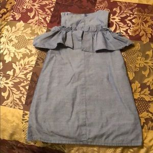 Cat & Jack Dresses - Super cute cat & jack denim dress size xs 4/5